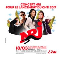 Concert NRJ pour le lancement du Chti 2017