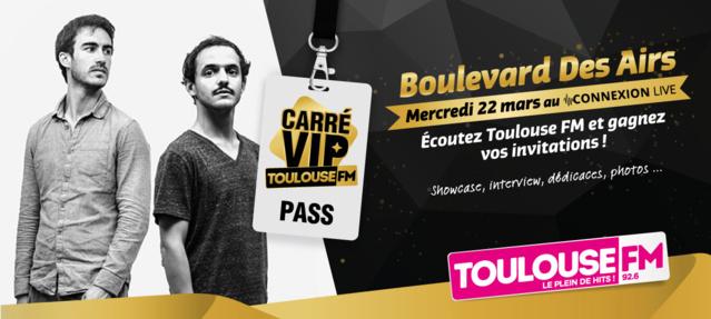 Toulouse FM organise un Carré VIP