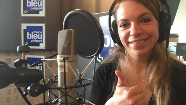 Agathe prendra les commandes de France Bleu Périgord, ce samedi de16h à 17h © Radio France - Thomas Demol