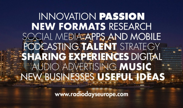 Announcing the start of Radiodays Europe 2017