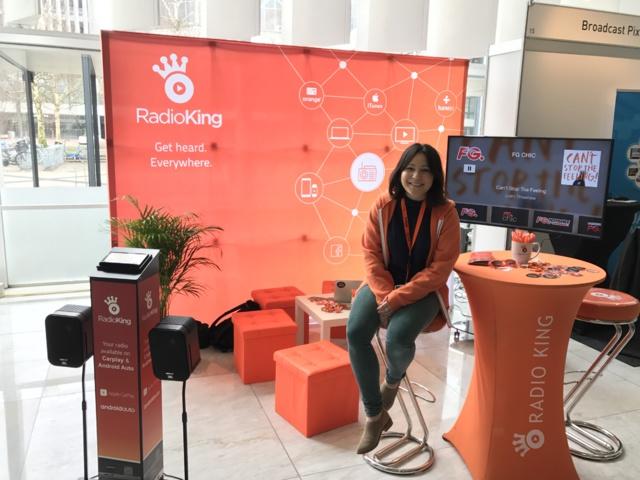 Radioking est installée jusqu'à demain au Rai Convention Centre d'Amsterdam à l'occasion des Radiodays Europe