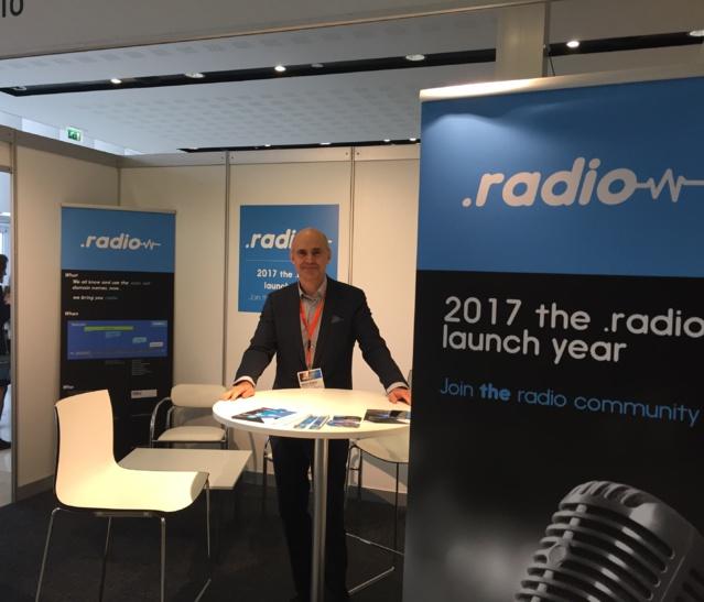 Jusqu'à ce mardi soir aux Radiodays Europe,, Alain Artero tente de promouvoir le .radio auprès des radios européennes