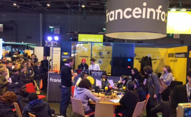 L'atelier franceinfo rencontre toujours un vrai succès auprès du jeune public @ Radio France