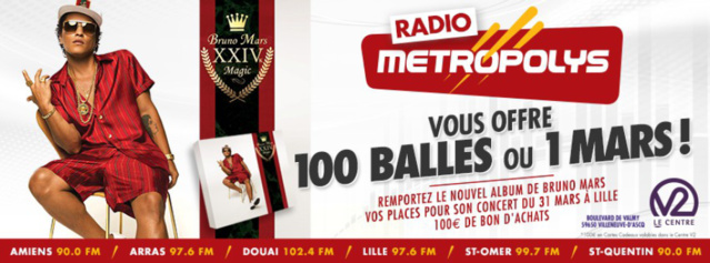 Radio Metropolys : 100 Balles ou 1 Mars ?