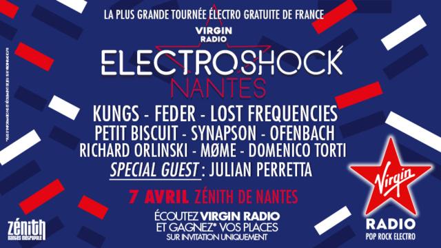 Nouvelle soirée ElectroShock Virgin Radio