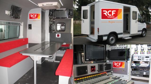 RCF Anjou souhaite acquérir un studio mobile qui permettra de lui faciliter ses délocalisations sur le terrain