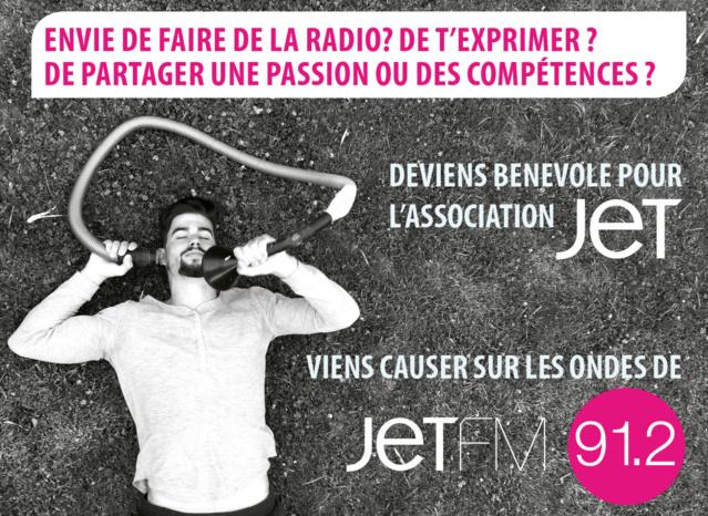 Jet FM recherche des bénévoles