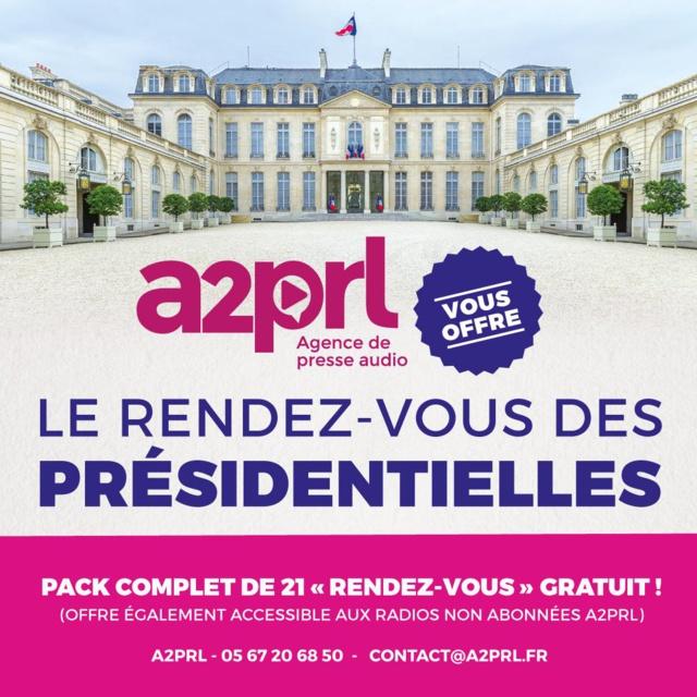 Présidentielle : 2 soirées électorales avec A2PRL