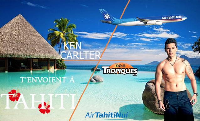 Tropiques FM offre un voyage à Tahiti