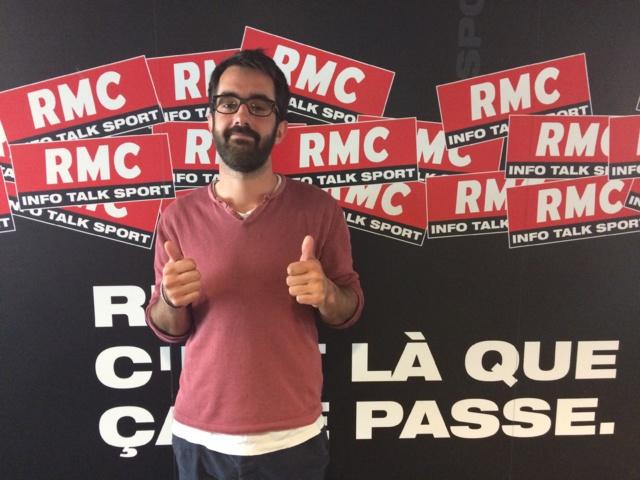 Mathieu Charré, issu de l'EJDG Grenoble, a été retenu par le jury de la rédaction de RMC Sport ©RMC