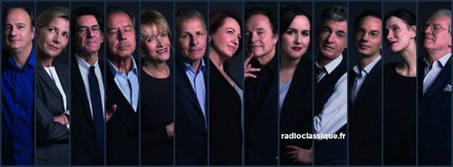 Forte progression de la matinale de Radio Classique