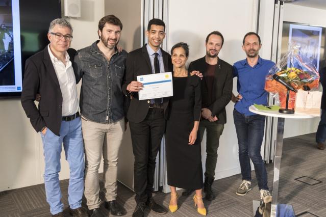 Manuel Houssais, Éric Jean-Jean, Maxime Veyrier diplômé du CQP et animateur sur le réseau bleu station France Bleu Lorraine Sud, Kheira Berger, Vincent Soulet, Hervé Marchon.