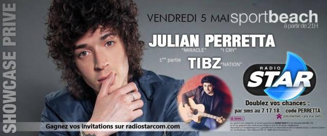 Soleil, piscine, Radio Star et... Julian Perretta