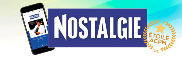 """Nostalgie reçoit """"Le Prix de l'Étoile"""" 2017 de l'ACPM"""