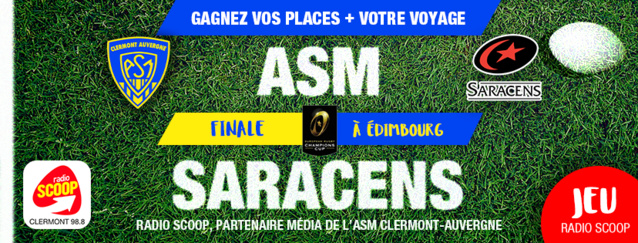 Radio Scoop supporte l'ASM Clermont-Auvergne