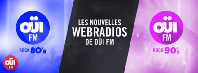 Deux nouvelles webradios pour Oüi FM