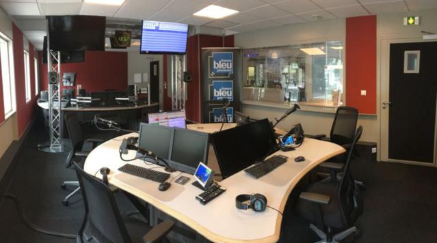 Le nouveau studio de France Bleu Provence © Richard Marcovecchio - Radio France
