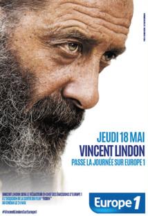 Vincent Lindon passe une journée sur Europe 1