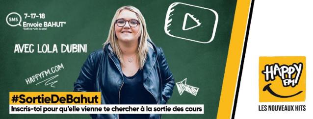 Happy FM : Lola Dubini à la