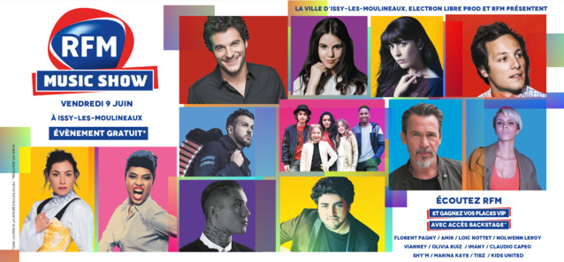 "RFM prépare son prochain ""RFM Music Show"""