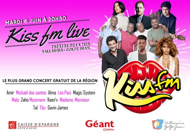 "Kiss FM organise un ""Kiss FM Live"""