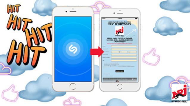 NRJ : un nouveau partenariat avec Shazam