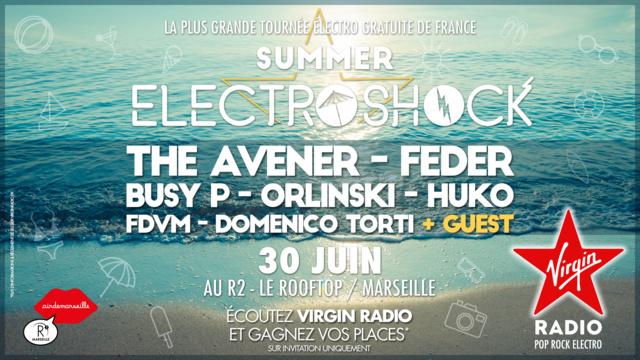 Marseille accueille le prochain ElectroSock de Virgin Radio
