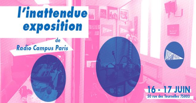 """Radio Campus Paris organise une expo """"inattendue"""""""