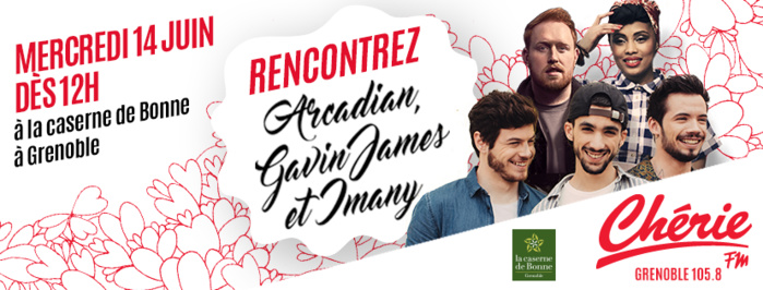 """Chérie FM : un concert """"Pop Love"""" à Grenoble"""