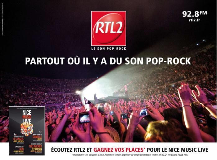 Nouvelle campagne d'affichage pour RTL2