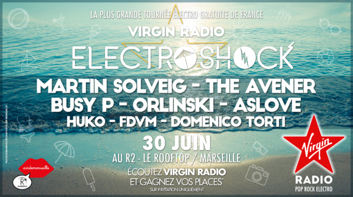 Camille Combal en direct toute une journée sur Virgin Radio