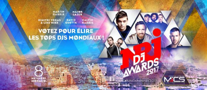 Coup d'envoi des NRJ DJ Awards 2017