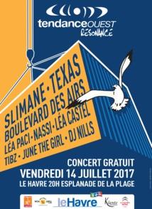 """Tendance Ouest : un """"Tendance Live"""" le 14 juillet au Havre"""