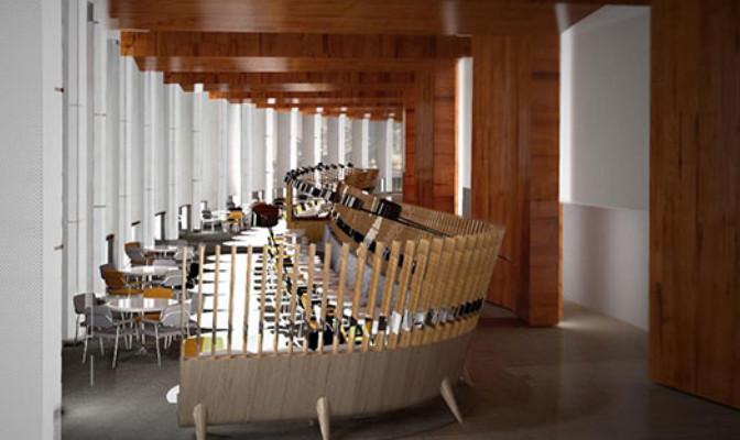 """""""Radioeat"""" : le nouveau restaurant de la Maison de la radio"""