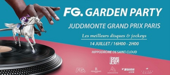 "Radio FG organise la ""FG Garden Party"" à l'hippodrome de Saint-Cloud"