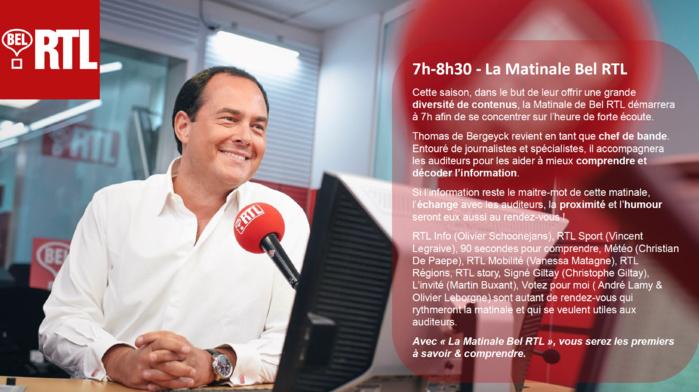Bel RTL : les auditeurs plus que jamais au cœur des programmes