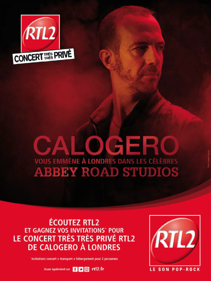 RTL2 : une campagne avec Calogero