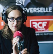 """À 8h10, les auditeurs auront rendez-vous avec Stéphanie Gallet et son """"Grand Invité"""" © Denis Meyer Hans Lucas"""