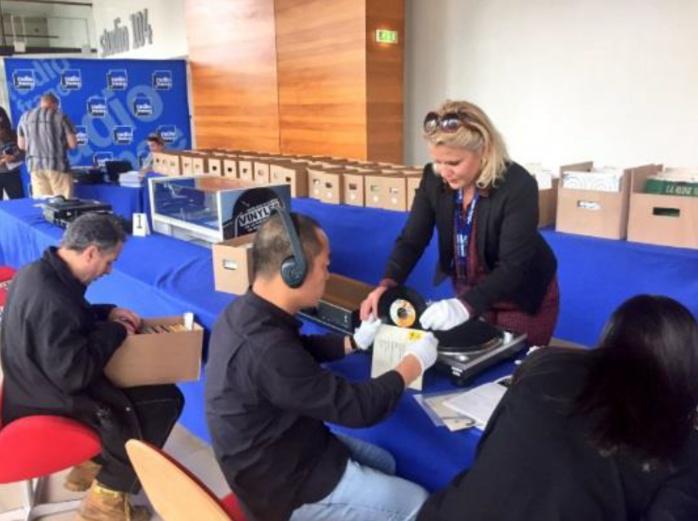 Nouvelle vente aux enchères de vinyles à Radio France