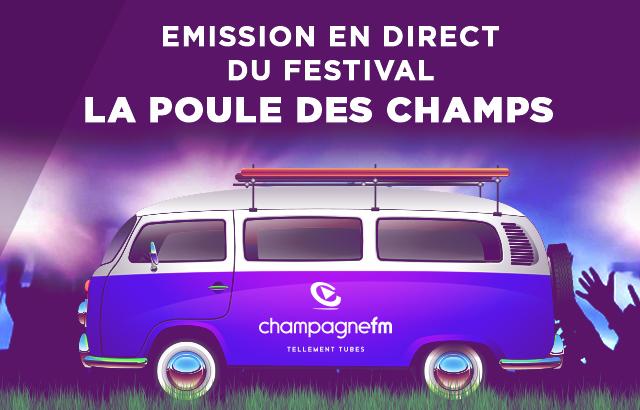 Champagne FM en direct du Festival
