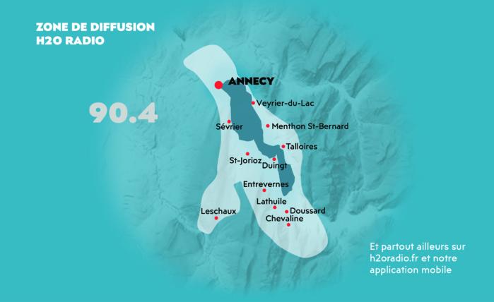 Annecy : lancement de H2O Radio en octobre
