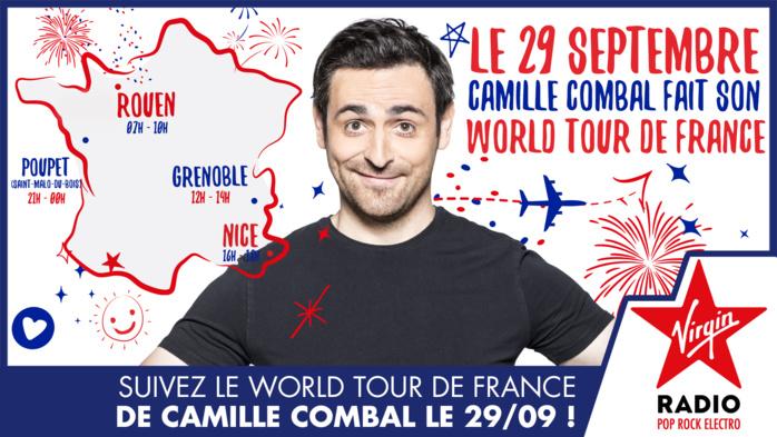 """Un nouveau """"World Tour de France"""" pour Camille Combal"""