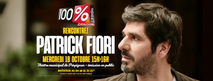 Perpignan : la radio 100% Catalogne reçoit Patrick Fiori