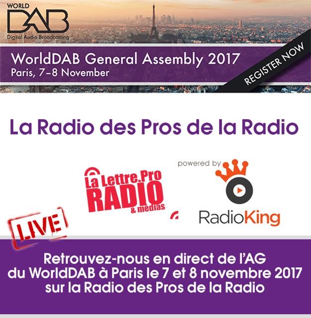 L'Assemblée générale du WorldDAB à suivre en direct