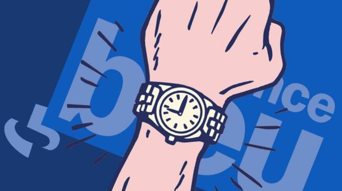 Une montre France Bleu pour le changement d'heure