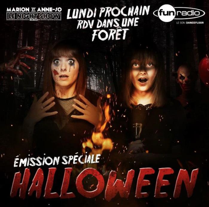"""Fun Radio s'installe dans """"une forêt hantée"""""""