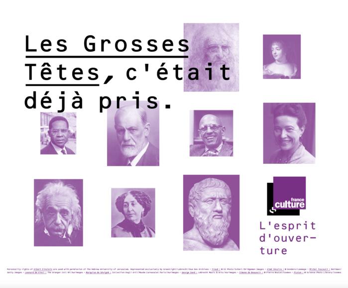 """Pour France Culture : """"Les Grosses Têtes, c'était déjà pris"""""""