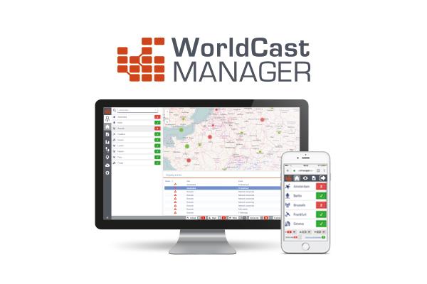 Worldcast Manager, supervision technique globale de toute la chaîne de diffusion