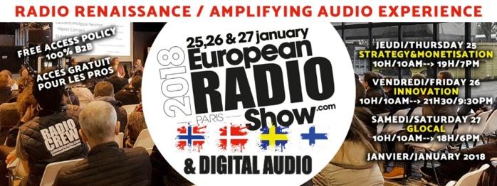 Salon de la Radio 2018 : réservez votre badge !