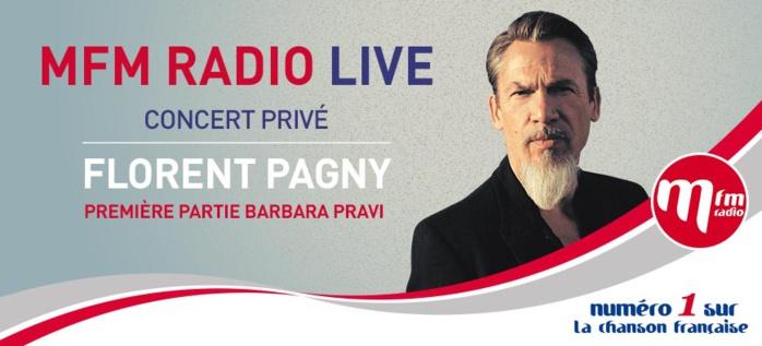 """Un nouvel """"MFM Radio Live"""" avec Florent Pagny"""